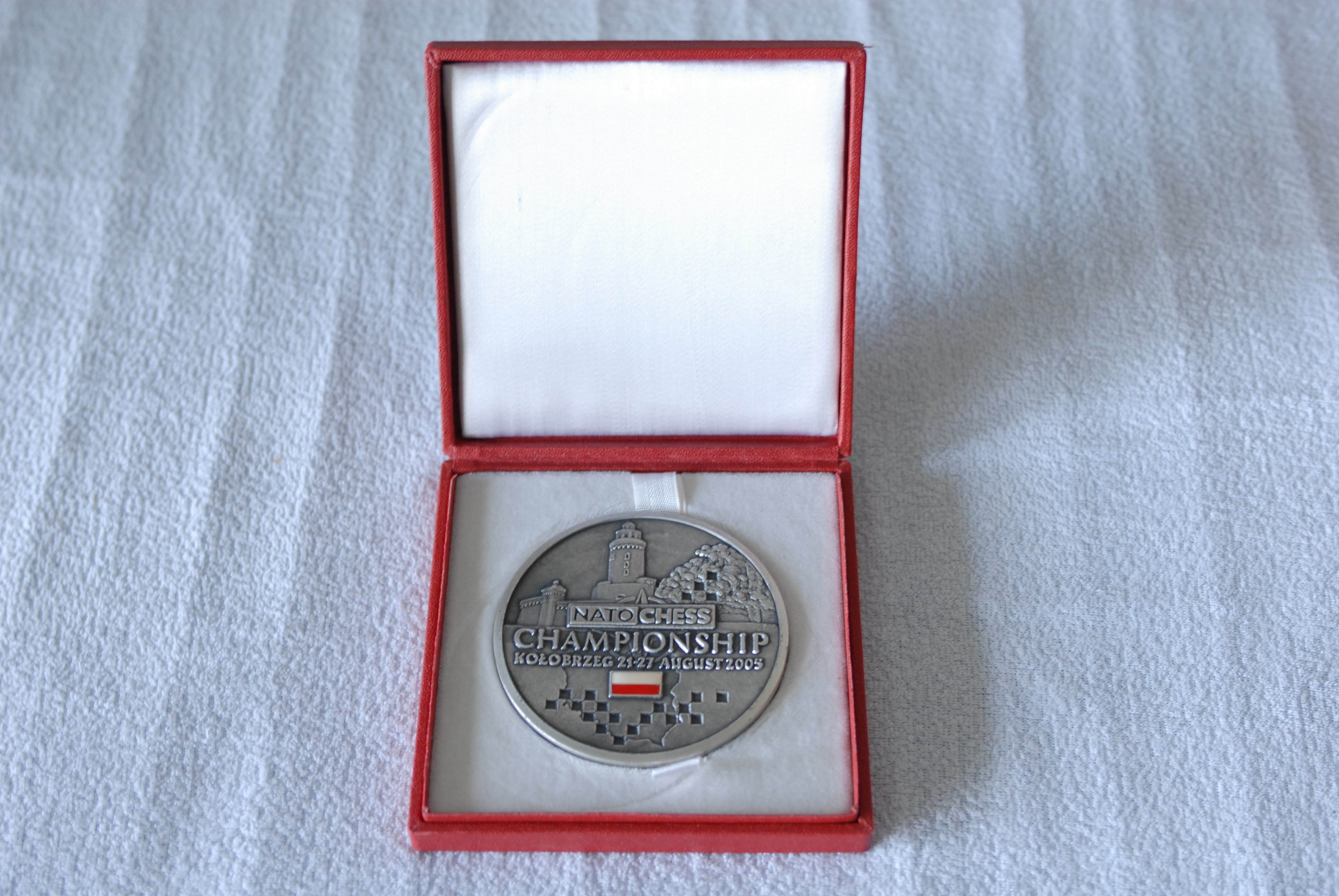 NATO Chess 2005 Participant Medal - front